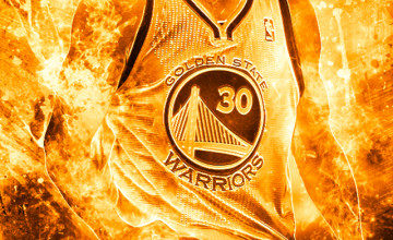 Stephen Curry Human Torch Wallpaper