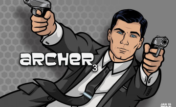 Sterling Archer Wallpaper