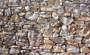 Stone Wall Mural Wallpaper