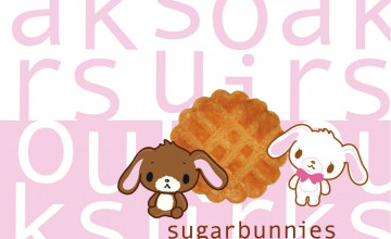 Sugar Bunnies Wallpaper