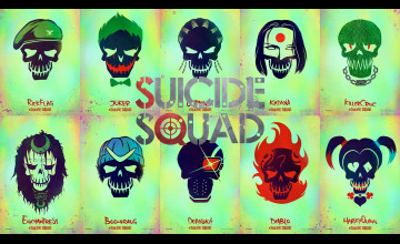 Suicide Squad Movie Wallpaper