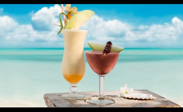 Summer Drinks Wallpaper for Desktop