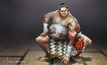 Sumo Wallpaper