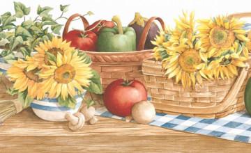 Sunflower Country Wallpaper Border
