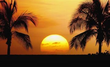 Sunset Hawaii Beach Wallpapers