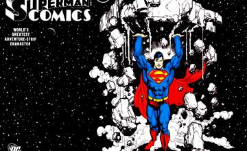 Superman Comic Wallpapers