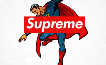 Superman iPhone Wallpaper Supreme