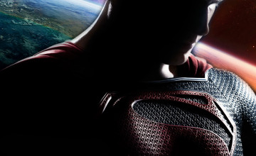 Superman Man of Steel Wallpaper