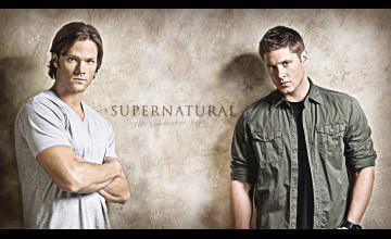 Supernatural Sam and Dean Wallpaper