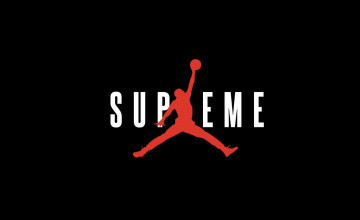 Supreme Jordan iPhone Wallpaper