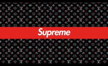 Supreme Laptop Wallpaper