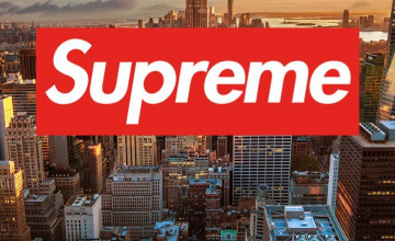 Supreme New York iPhone Wallpaper
