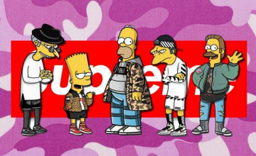 Supreme Simpsons Wallpapers