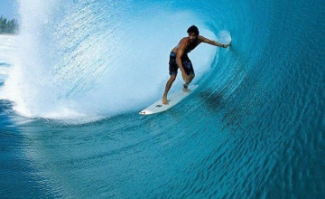 Surfing Wallpaper for iPhone