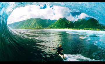 Surfing Wallpaper Widescreen