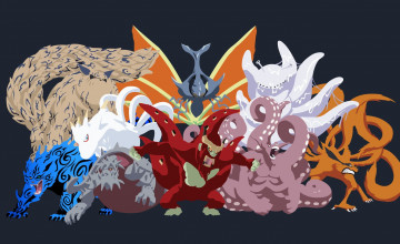Tailed Beasts Wallpapers