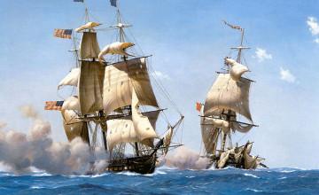 Tall Ship Wallpaper HD