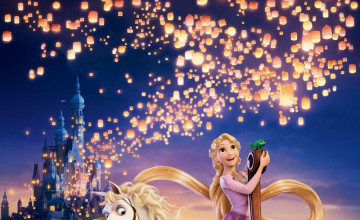 Tangled Rapunzel Wallpaper