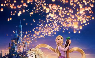 Tangled Rapunzel Wallpaper
