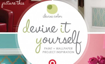 Target Wallpaper and Paint