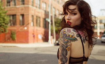 Tattoo Woman Wallpaper