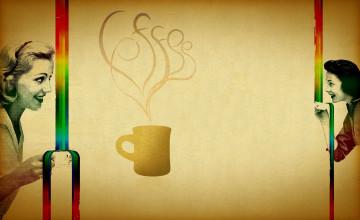 Tea Cup Desktop Wallpaper