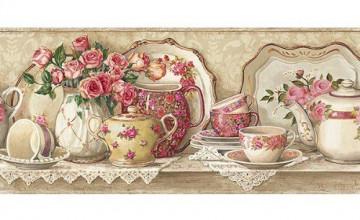 Teacup Wallpaper Borders