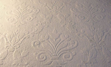 Texture and Paint Over Wallpaper
