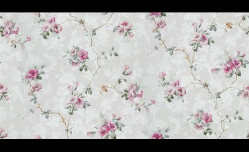 Textured Wallpaper in Floral
