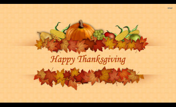 Thanksgiving Computer Wallpapers