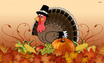 Thanksgiving Wallpaper 1600x900