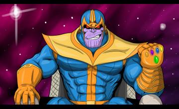 Thanos Cartoon Wallpapers