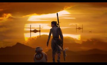 The Force Awakens HD Wallpaper