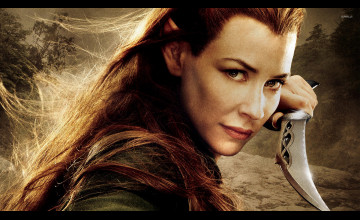 The Hobbit Tauriel Wallpaper