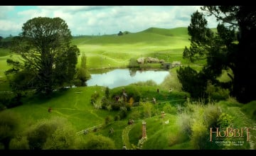 The Hobbit The Shire Wallpaper