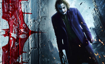 The Joker Heath Ledger Wallpaper