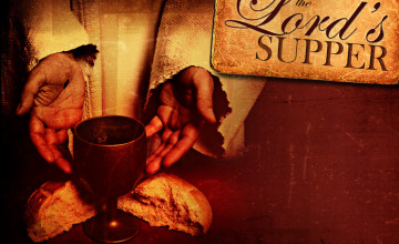 The Lord\'s Supper Wallpaper