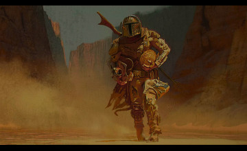 The Mandalorian Art 2020 Wallpapers