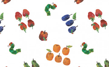 The Very Hungry Caterpillar Wallpaper