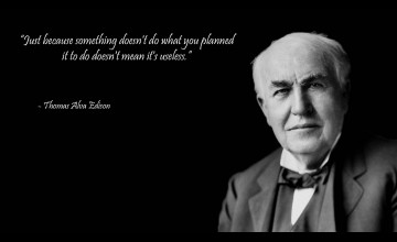 Thomas Edison Wallpapers