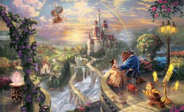 Thomas Kinkade Disney Wallpaper 1920x1080