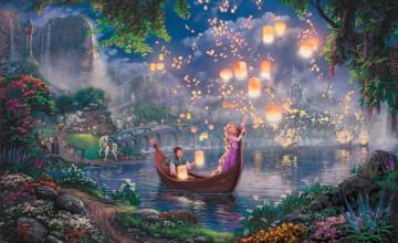 Thomas Kinkade Disney Wallpaper