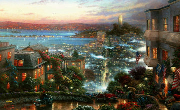 Thomas Kinkade Free Desktop Wallpaper