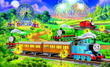 Thomas The Train Desktop Wallpaper
