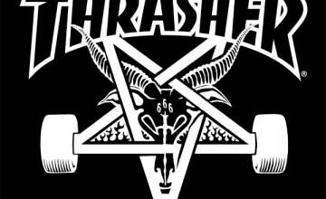 Thrasher Logo Wallpaper