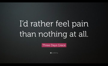 Three Days Grace Wallpapers Pain