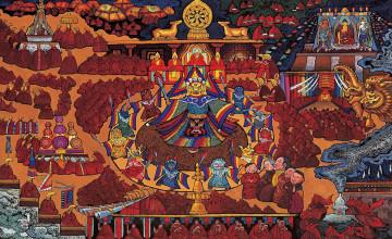 Tibetan Backgrounds