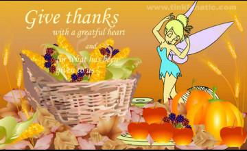 Tinkerbell Thanksgiving Wallpaper