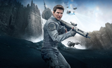 Tom Cruise Oblivion Wallpaper