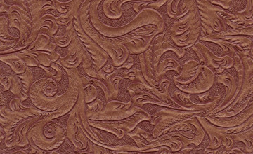 Tooled Leather Look Wallpaper